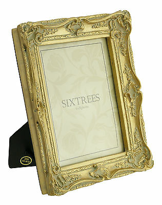 Ornate Vintage Antique Shabby & Chic Photo Frame 4 Colours  4x4 6x4 7x5 8x6 10x8 3