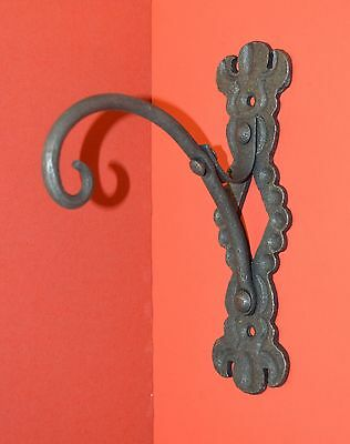 Wrought Iron,Organic Coat,Clothes,Wall Hook Hanger with Leaf,by Blacksmiths 12