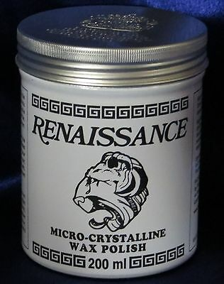 Renaissance Wax - Micro-Crystalline Wax Polish - 200ml (7oz) Can