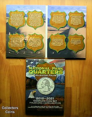 2010 - 2019 ATB National Park 92 Quarter PD Set to Date wDeluxe Collector Folder 6