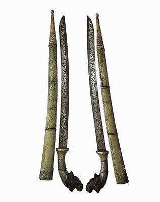 Antique islamic Filipino Visayan Philippines Tenegre Sword Dagger Knife 18/19th 5