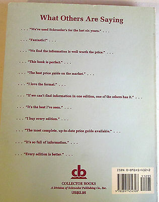Schroeder's Antiques Price Guide Book - Ninth Edition 1991 2