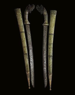 Antique islamic Filipino Visayan Philippines Tenegre Sword Dagger Knife 18/19th 4