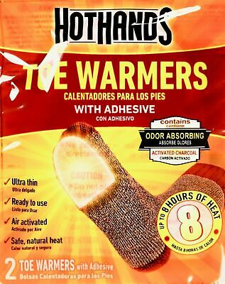 HotHands Toe Warmers 40 Pair (80 Individual) w/Adhesive BRAND NEW 2