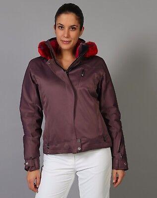 2086f5487948 blouson veste ski degré 7 couleur figue taille