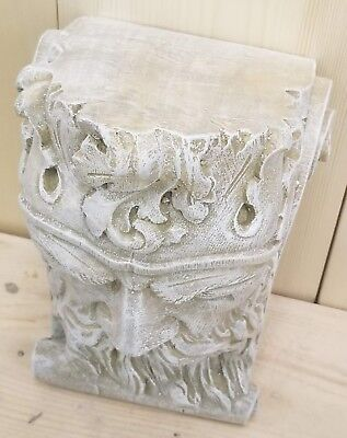 Bearded Man Wall Corbel Bracket Shelf Architectural Accent Home Decor 5
