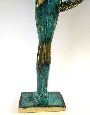 Ancient Greek Bronze Museum Statue Replica Of Olympic Games Winner Collectable 12