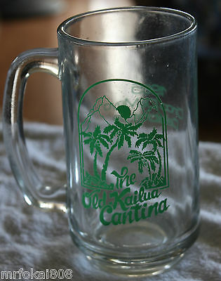 The Old Kailua Cantina 1985 Cinco Demayo Acl Glass Hawaii Bottle 4