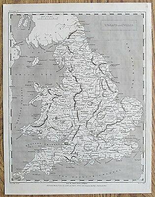 12 19th Century Great Britain England Wales Various Genuine Antique Maps 12