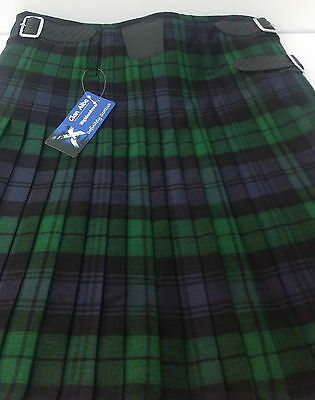 Black Watch  8 yard  Kilt ONLY Ex Hire £99 A1 Condition Large Stock But HURRY 3