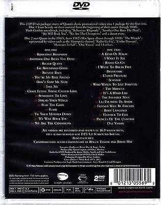 Queen - Greatest Video Hits Dvd 2 Disc Set 33 Videos Freddie Mercury Region Free 2
