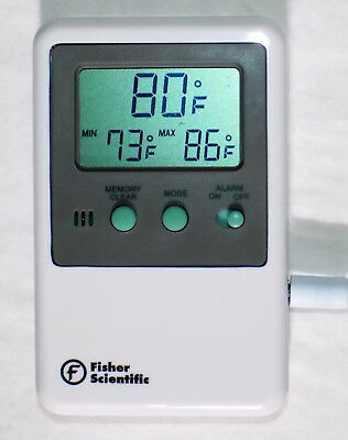27 New Fisher Scientific 06-664-11 Traceable Refrigerator Freezer Thermometers