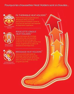 c04297dc74498 ... Heat Holders - Homme hiver chaudes renforcées chaussettes de travail  thermiques 3