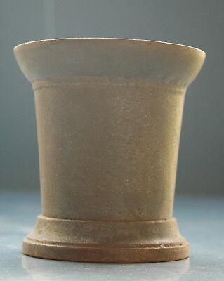 antiker Eisen Mörser mit Stößel - Apotheker ca. 2,5kg