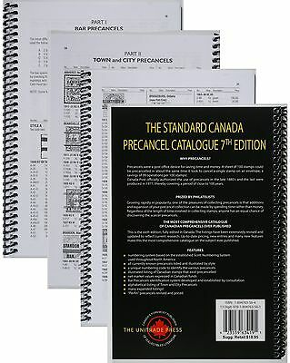 The Standard Canada Precancel Catalogue 7th Edition Unitrade Press. 3