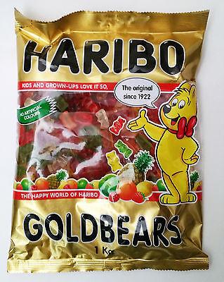 Brand New 3 KG Haribo Goldbears Gummy Bears Australian Stock Free Fast Shipping