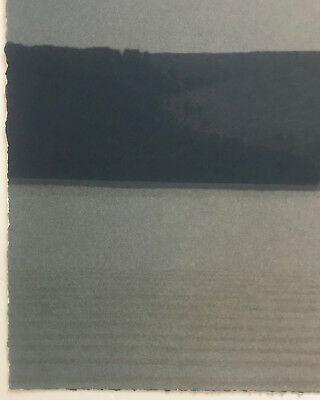 RUSSELL CHATHAM, Original lithograph, Still Evening at Tomales Bay, S/N/D 4