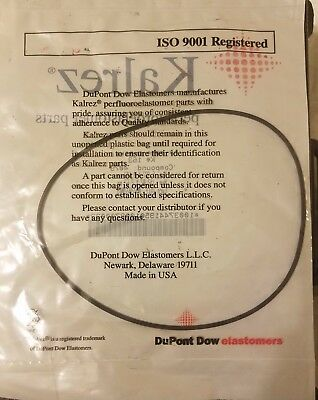 NEW Dupont Kalrez AS-568A O-RING K# 163 Compound: 4079 (LOT OF 2)
