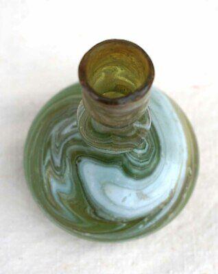 Balsamarium Bysantine Ampulla Ribbon Glass 6/8 th Century 5