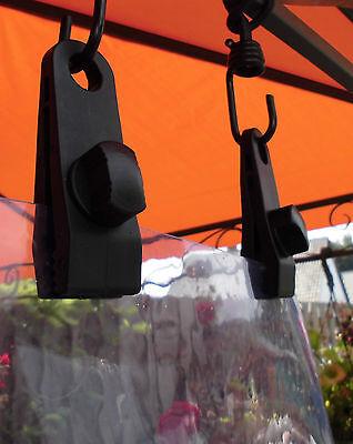 Folien  Zelte 6 St Planenhalter  Ösen  Ösenklammer  für Planen