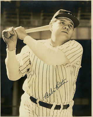 BABE RUTH  ( N Y YANKEES ) YOU GET BOTH PHOTOS  -   5x7  SIGNED  PHOTO REPRINTS 2