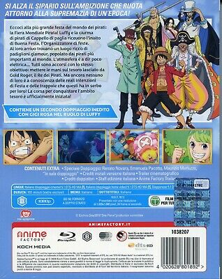 One Piece. Stampede - Il film (2020) s.e. Blu Ray + 5 cards 3