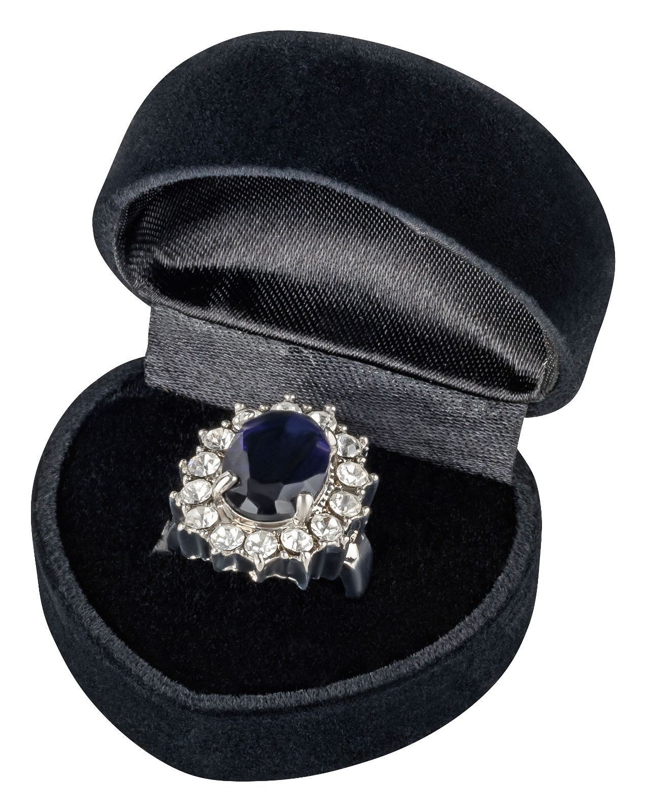 Lady Diana's Ring William Kate Verlobungsring Zirkonia in edler Geschenkbox