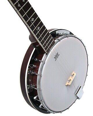 Banjo BJ6-6-saitiges, Mensur 65,8cm, Remo Weatherking-Fell,Randeinlagen,by MSA!n 6