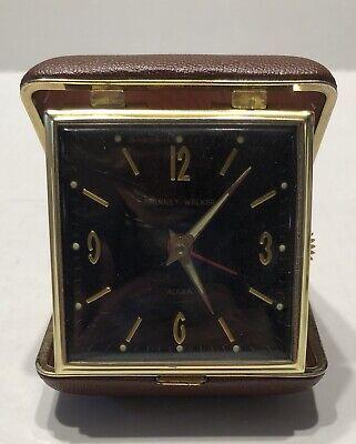 Vintage Phinney Walker Black Dial & New Seth Thomas Travel Alarm Clocks-Estate 7