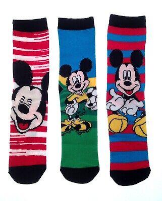 Kids 3 Pack Of Character Socks Boys Girls Disney Ankle School Socks 3 Pairs Size 4