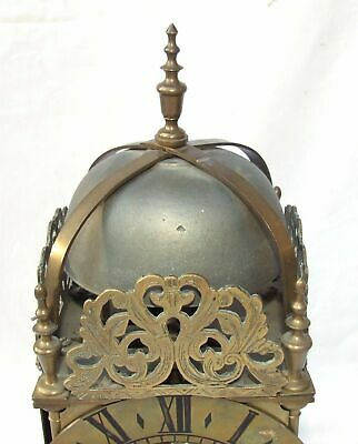 Hook and Spike Lantern Clock in Manner of Antique 16th / 17th Lantern Clock 3