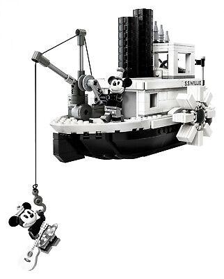 LEGO® Ideas 21317 Steamboat Willie BRANDNEU OVP BLITZVERSAND I LIMITIERT!