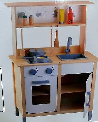 BEEBOO KINDER HOLZ Küche, mit Aufsatz, NEU - EUR 99,90 | PicClick DE