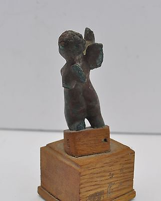 "Ancient Roman Bronze Eros 2.58"" Figure 1St/2Nd Century Ad 4"