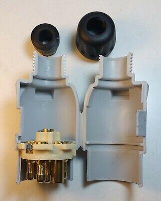 7 Pin 12S Caravan Plug Thermo Plastic Towing 12V Trailer Lights Maypole Mp29B 6