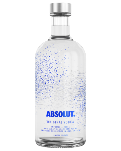 Absolut Uncover Vodka 700mL bottle