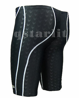 Boys Men Racing Competition Fast Skin Tech Swimwear Trunk Jammer XXS-5XL 18-38