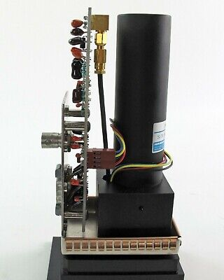 Hamamatsu H957-05 PMT Photomultiplier Tube, Lincoln Laser Clock Preamp & Housing 7