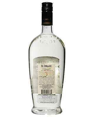 El Dorado 3 Year Old White Rum 750mL bottle 2