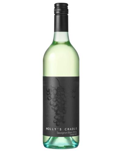 Molly's Cradle Sauvignon Blanc 2017 case of 6 Dry White Wine 750mL Orange