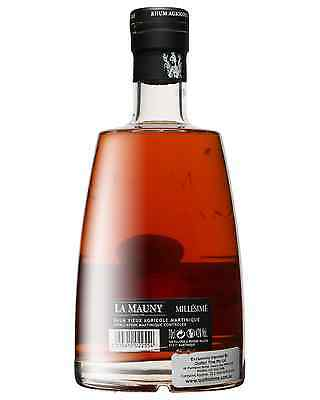 La Mauny Millesime 1998 Rhum 700mL bottle Rhum Agricole Dark Rum 2