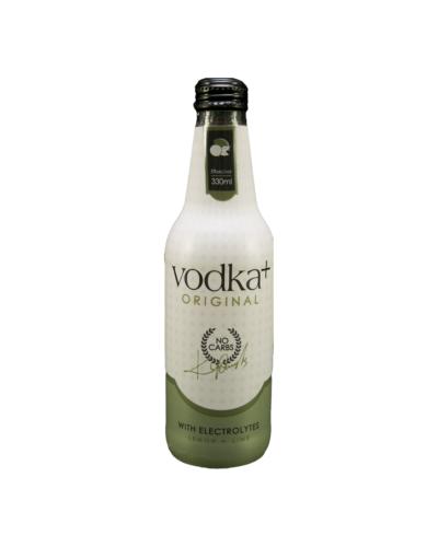 Vodka Plus Lemon and Lime 330mL case of 24 Vodka Premixed Drinks Dry White 2