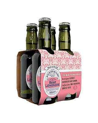 Fentiman's Rose Lemonade 200mL case of 24 Soft Drinks