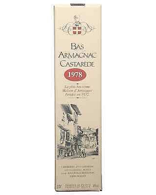 Castarede 1978 Armagnac 700mL bottle 3