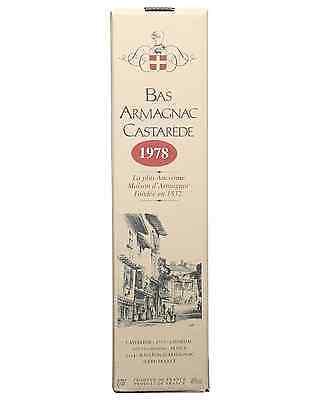 Castarede 1978 Armagnac 700mL bottle 3