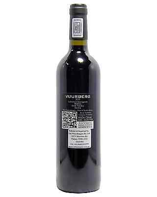 Vuurberg Reserve Red 2010 case of 6 Cabernet Blends Dry Red Wine 750mL 2