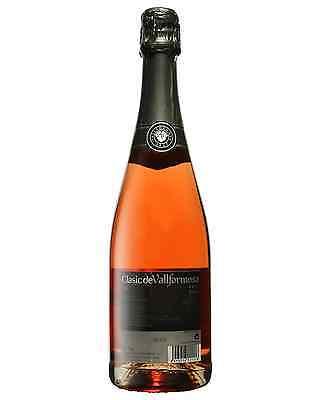 Vallformosa Clasic Rose Cava case of 6 Parellada Macabeo Xarel lo Wine 750mL 2