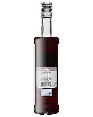 Vedrenne Creme de Fraise 700mL case of 6 Liqueur Fruit Liqueurs Burgundy