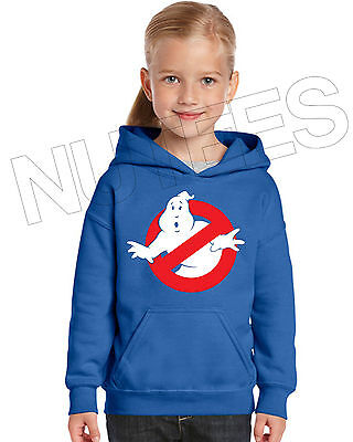 Ghost Busters Movie Inspired Kids Unisex Hooded Sweatshirt Hoodie 5-6 to 12-13 3