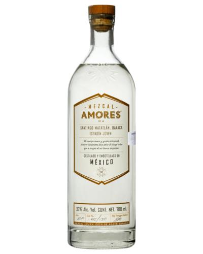 Mezcal Amores Espadin Joven 700mL bottle Tequila Oaxaca 2